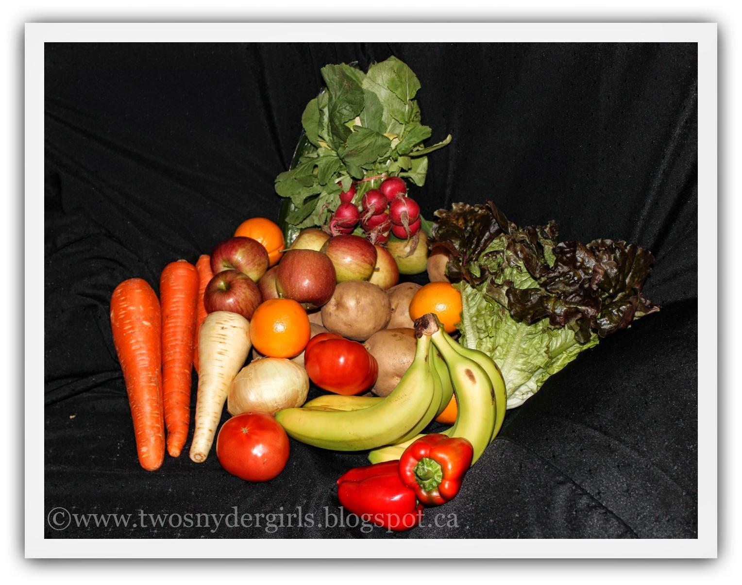 Fresh Organic Food Delivery Winnipeg