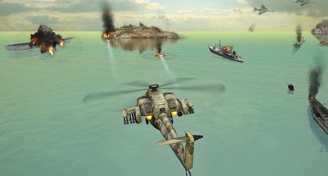 Gunship Strike 3D v1.0.5 Mod Apk Unlimited Money + Gems Update