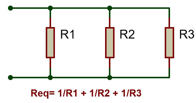 Resistors-Parallel connection-TechnoElectronics44