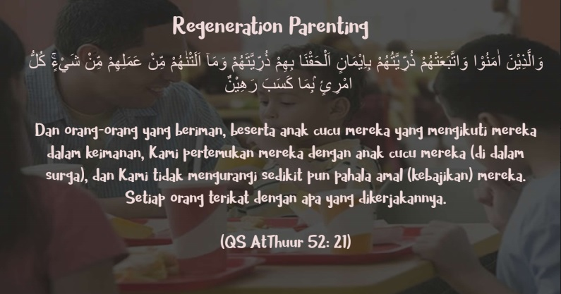 what is regeneration parenting?
