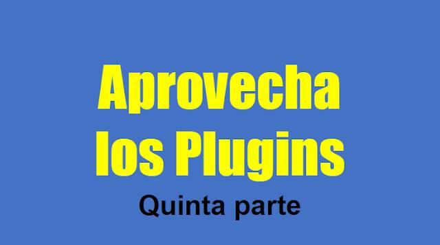 15.9.- Blog plugins quinta parte
