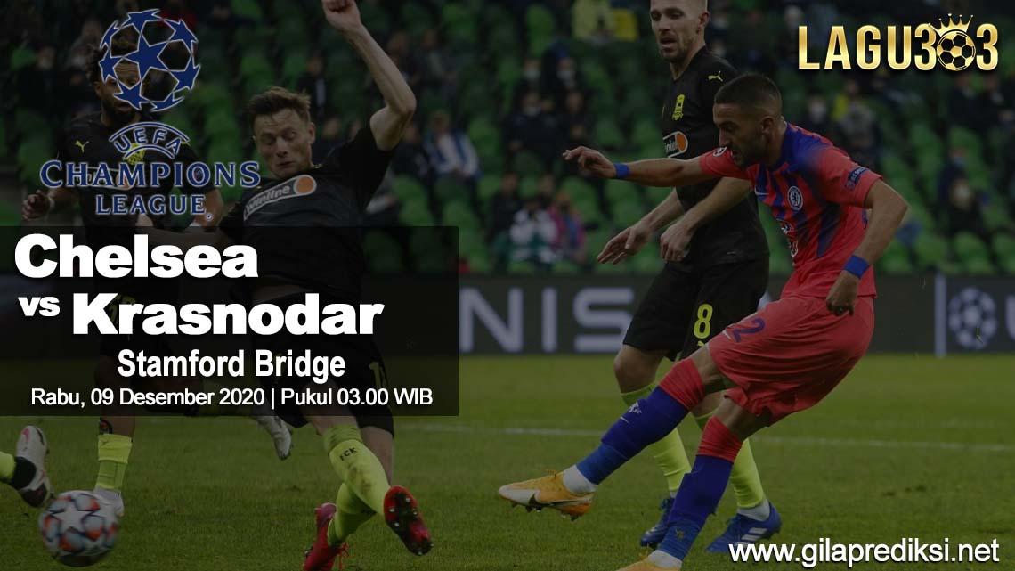 Prediksi Chelsea vs FC Krasnodar 09 Desember 2020 pukul 03.00 WIB