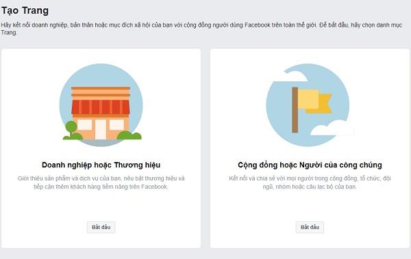 Thiết lập trang kinh doanh trên Facebook của bạn