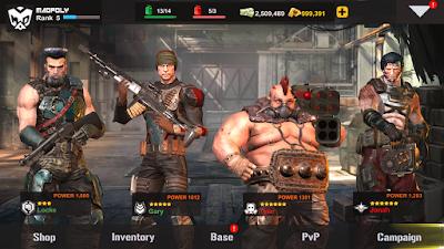 Dead Warfare Zombie Mod Apk