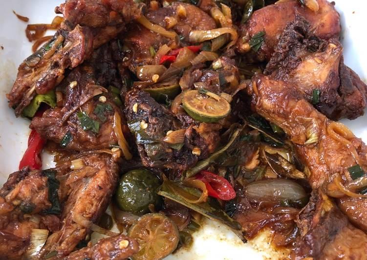 ayam goreng mentega chinese food