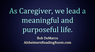 Quote Thinking about Alzheimer's Caregivers.
