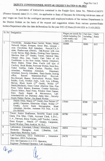 Rohtak DC Rate page 1