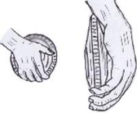 cara memegang cakram