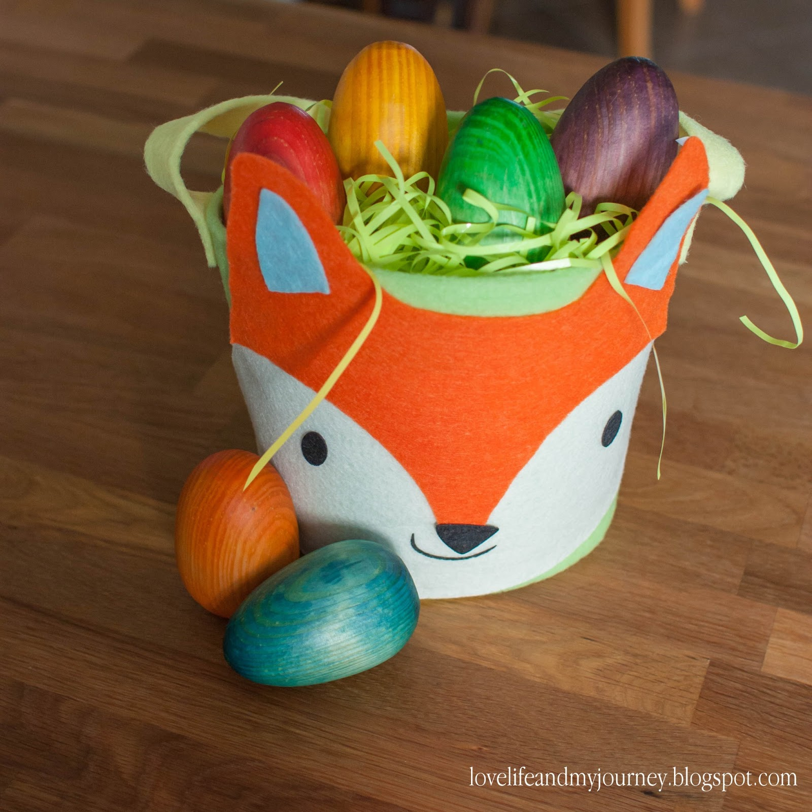 Love Life and My Journey: DIY Wooden Toy Eggs