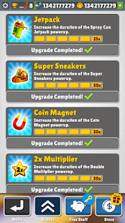 unlimited upgrade subway surfers mod apk