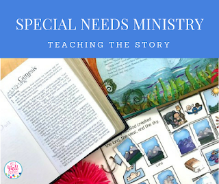 Address special needs while teaching Bible truths