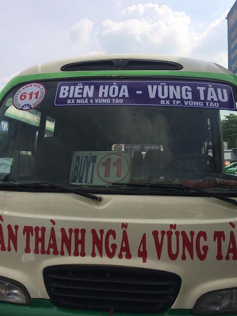 Thông tin xe bus Vũng Tàu cập nhật mới