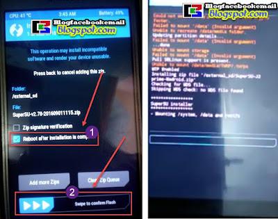 cara root hp android dengan superSU
