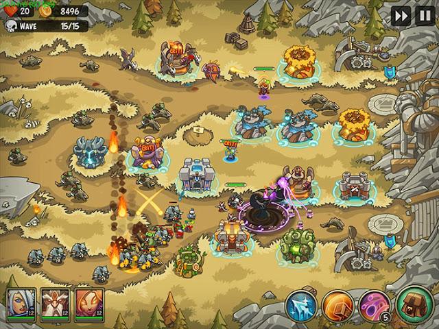 [Game Mod] Tải Empire Warriors Premium Mod Apk Android