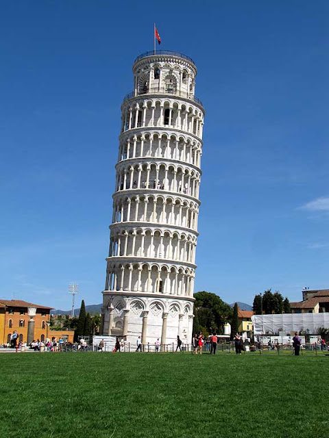 Leaning Tower of Pisa, piazza dei Miracoli, Square of Miracles, Pisa