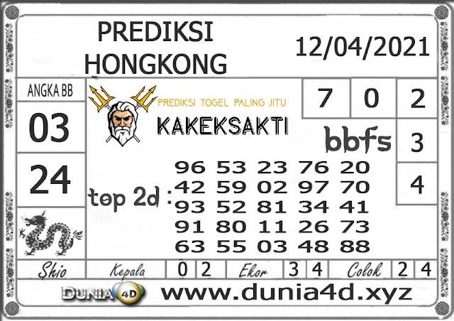 Prediksi Togel HONGKONG DUNIA4D 12 APRIL 2021