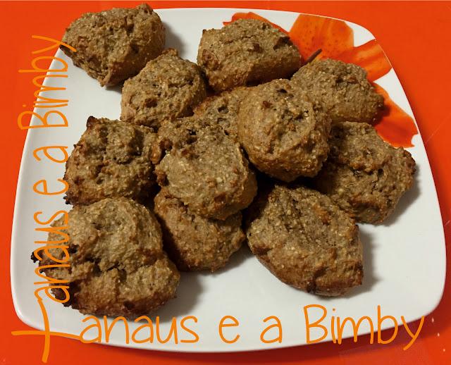 Biscoitos de Weetabix e Banana na Bimby