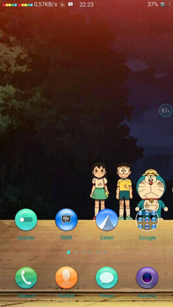 Cara membuat icon sinyal bulat bulat di Oppo A57 | Phone Tekno