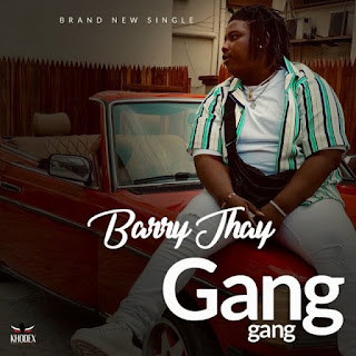 """Headies Award Rookie of the year Barry Jhay debuts hid brand new single, which he tagged """"Gang Gang"""" produced by Tuzi."""