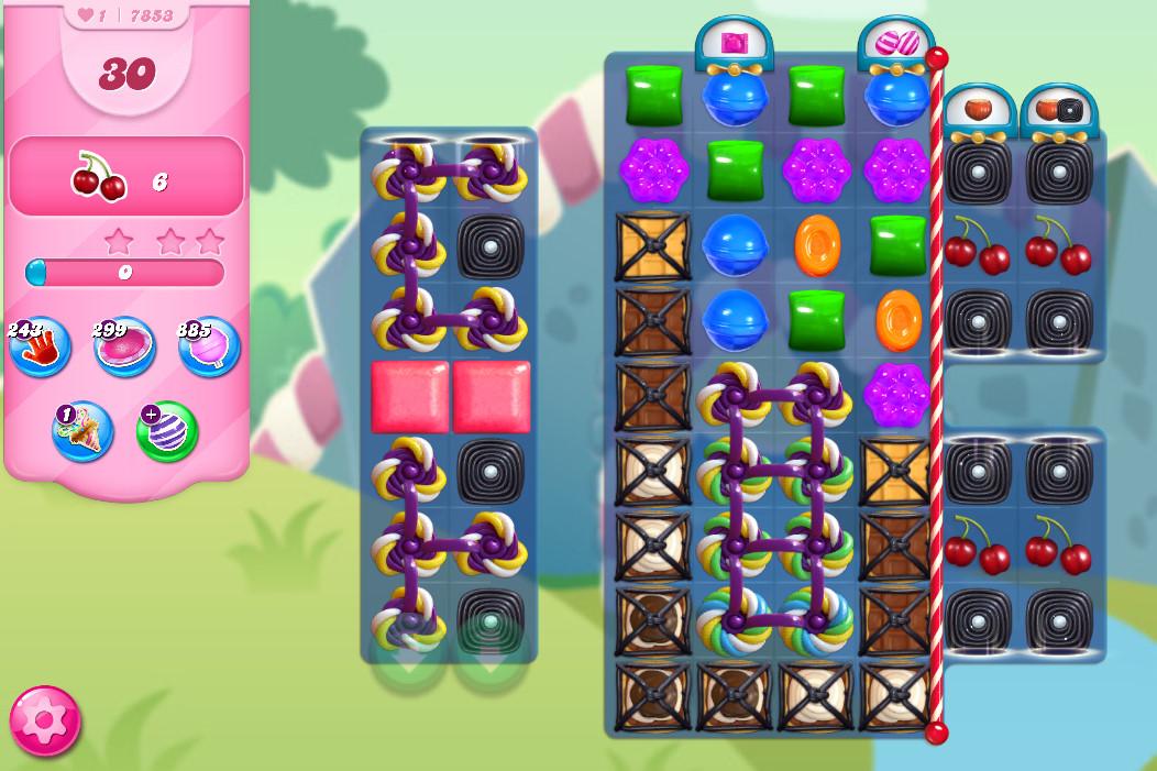 Candy Crush Saga level 7853
