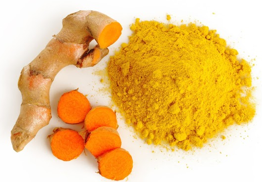 Turmeric can abort the womb
