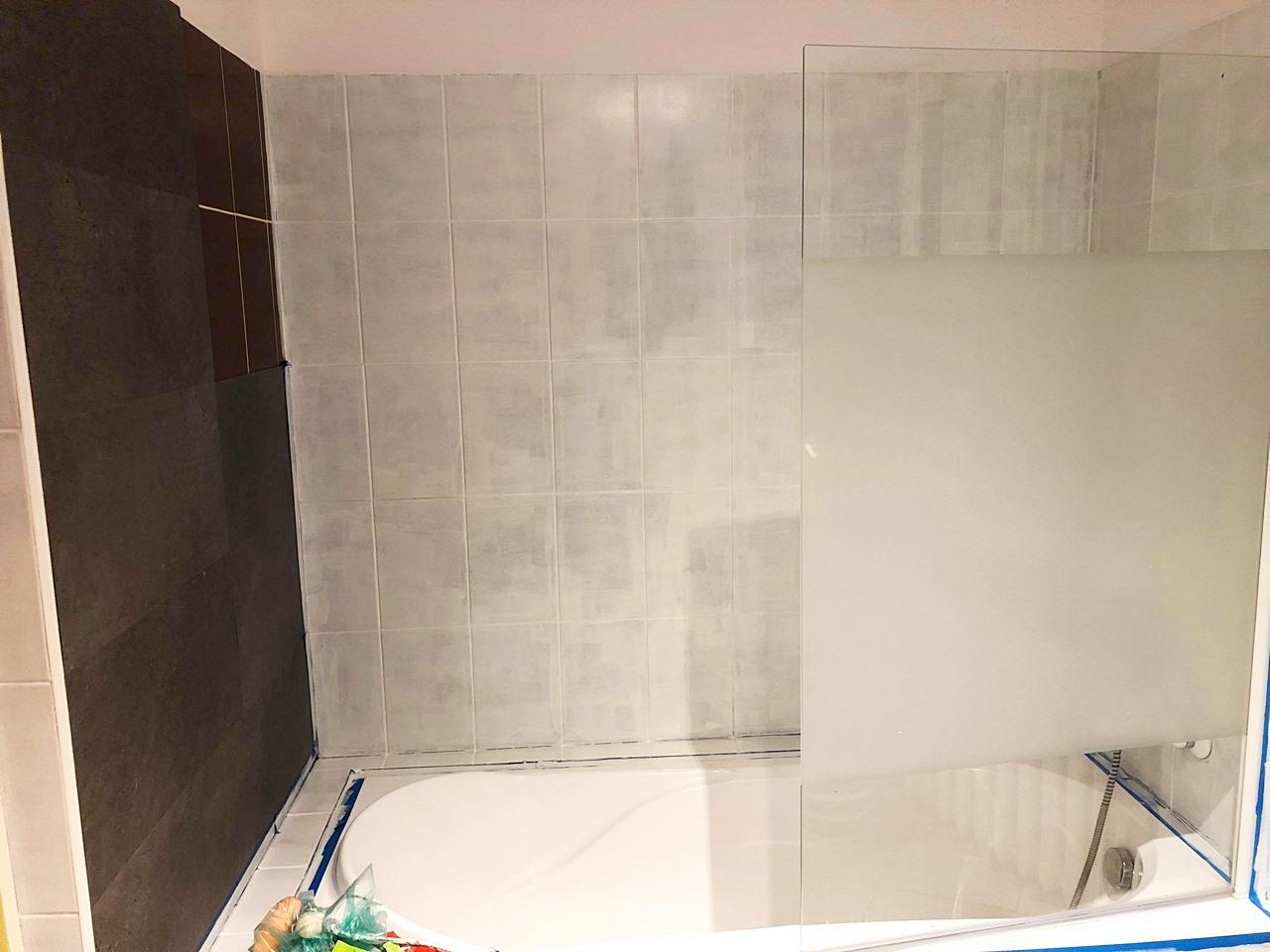łazienka przed i po remoncie