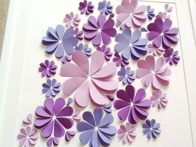 Hiasan Dinding dari Kertas yang Unik & Mudah Dibuat