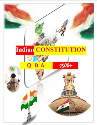 Constitution of India 15000+ MCQ pdf