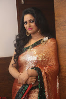 Udaya Bhanu lookssizzling in a Saree Choli at Gautam Nanda music launchi ~ Exclusive Celebrities Galleries 107.JPG