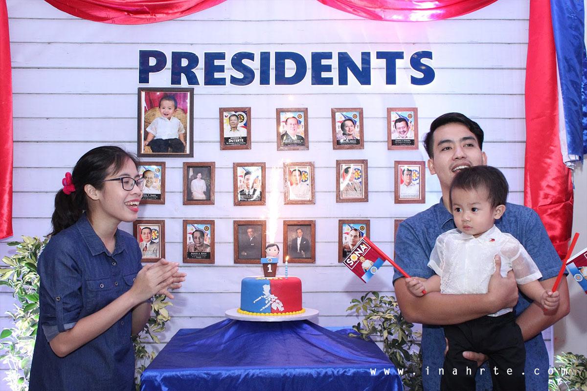 Presidential Cake First Birthday Party Theme