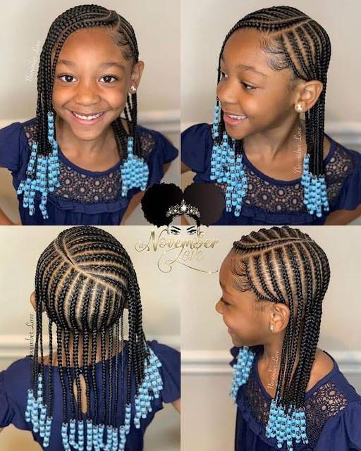 2020 Cute Braided Hairstyles for Pretty Kids
