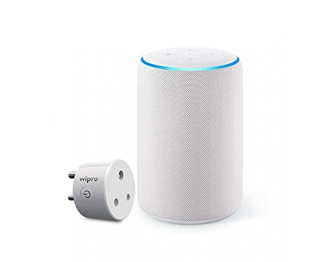 Amazon Echo 3rd Gen Improved sound, powered by Dolby (White)