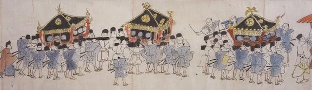 鶴岡八幡宮祭礼行列之図