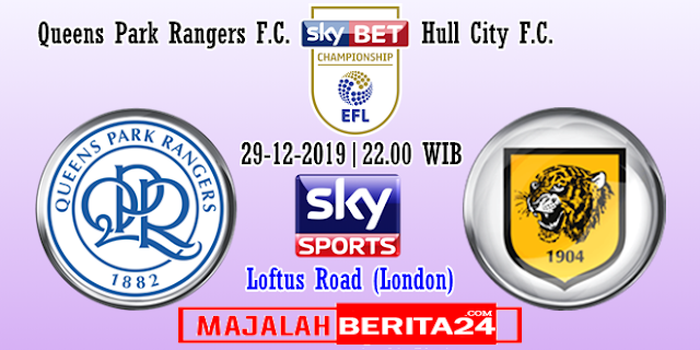 Prediksi Queens Park Rangers vs Hull City — 29 Desember 2019