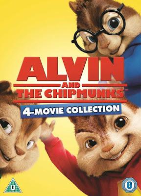 Alvin and the Chipmunks Colección DVD R1 NTSC Latino