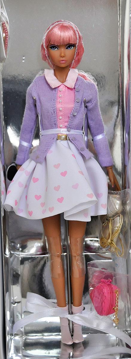 Feeling Wild Purple SHEER HOSE Open Toe Fashion Royalty Doll 2017 IFDC Exclusive