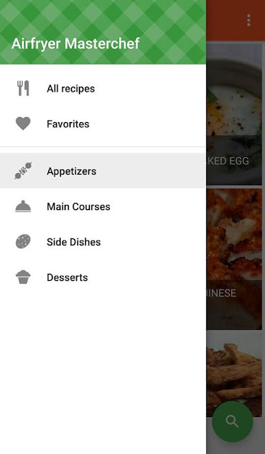 Easy Air Fryer recipes android cooking app categories