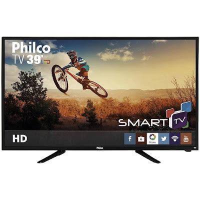 """Ter uma TV de tela grande em casa é muito bom Smart TV LED 39"""" Philco"""
