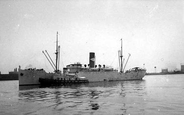 SS San Gil, sunk off the Delaware coast on 3 February 1942 worldwartwo.filminspector.com