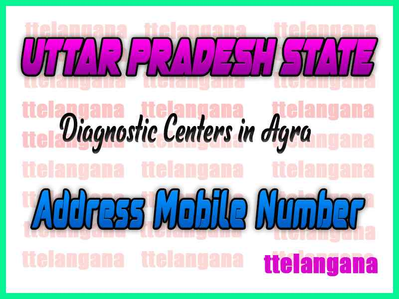 Diagnostic Centers in Agra Uttar Pradesh