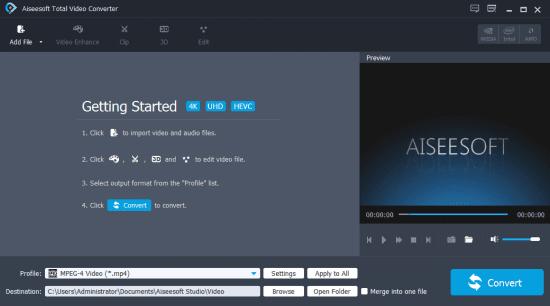 تحميل برنامج تحويل الفيديو توتال فيديو كونفرتر 2020 Total Video Converter
