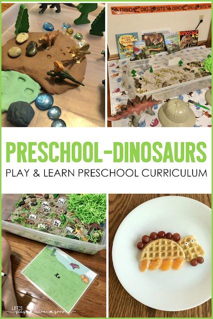 Preschool Dinosaurs | Dinosaur Preschool Activities