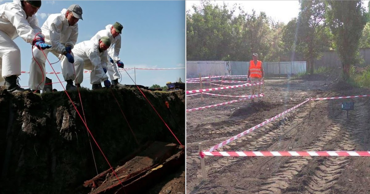 Stalin-Era Mass Grave Discovered In Ukraine Could Contain The Bodies Of 8,000 Victims