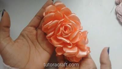 Flor boleada cascata