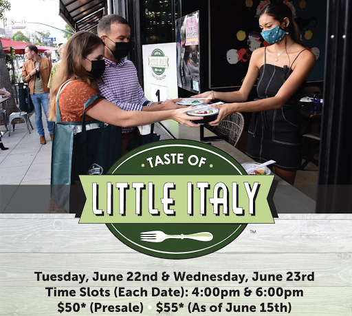Don't miss San Diego's Taste of Little Italy this June 22 & 23!
