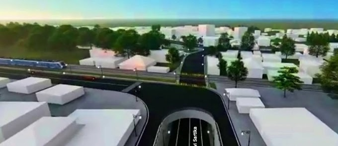 Juli 2020, Pembangunan Underpass Dewi Sartika Tahap I Dimulai