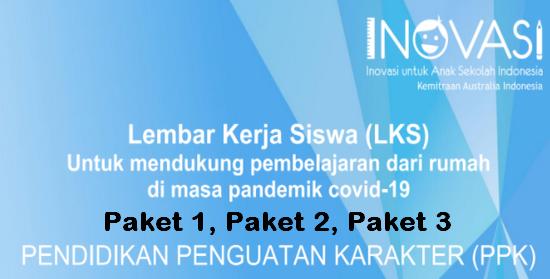 Inovasi LKS Pendidikan Penguatan Karakter Paket 1, 2, 3 Untuk SD-MI