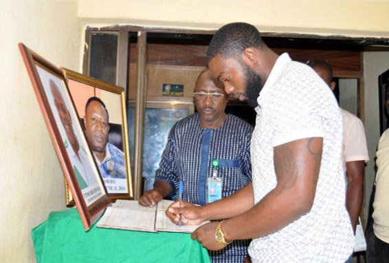 I wasn't told about my father's death, burial - Stephen Keshi's son