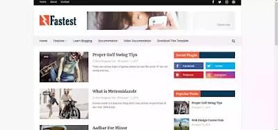 blogger theme free