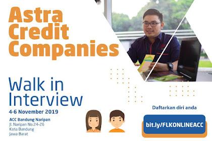Link Pendaftaran Online Loker Astra Credits Tasikmalaya